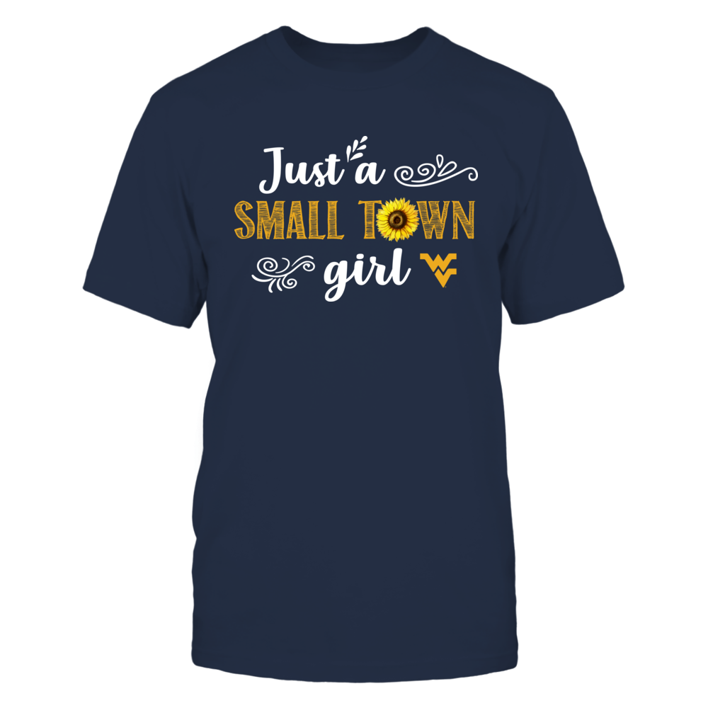 West Virginia Mountaineers - Small Town Girl - Sunflower Pattern Front picture