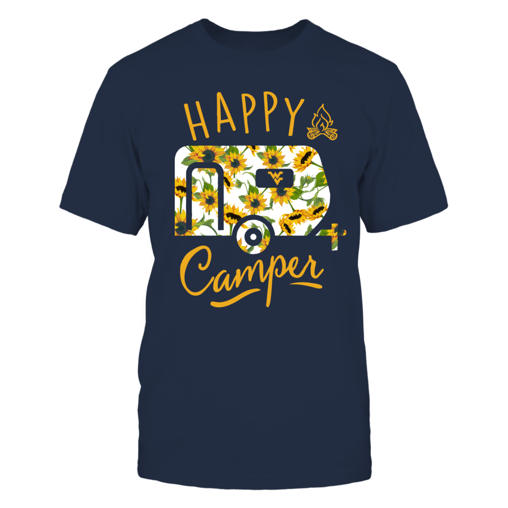 West Virginia Mountaineers - Camping - Sunflower Pattern Camping Car Front picture