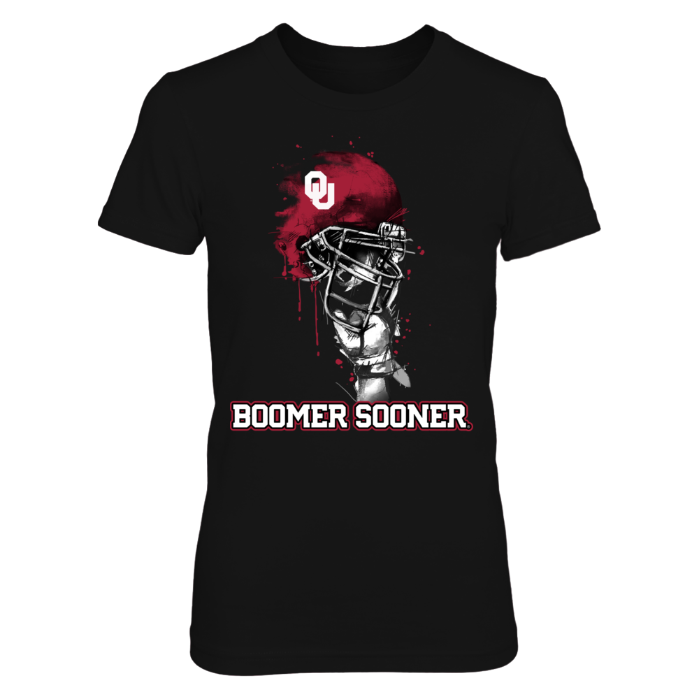 Oklahoma Sooners - Rising Helmet Front picture
