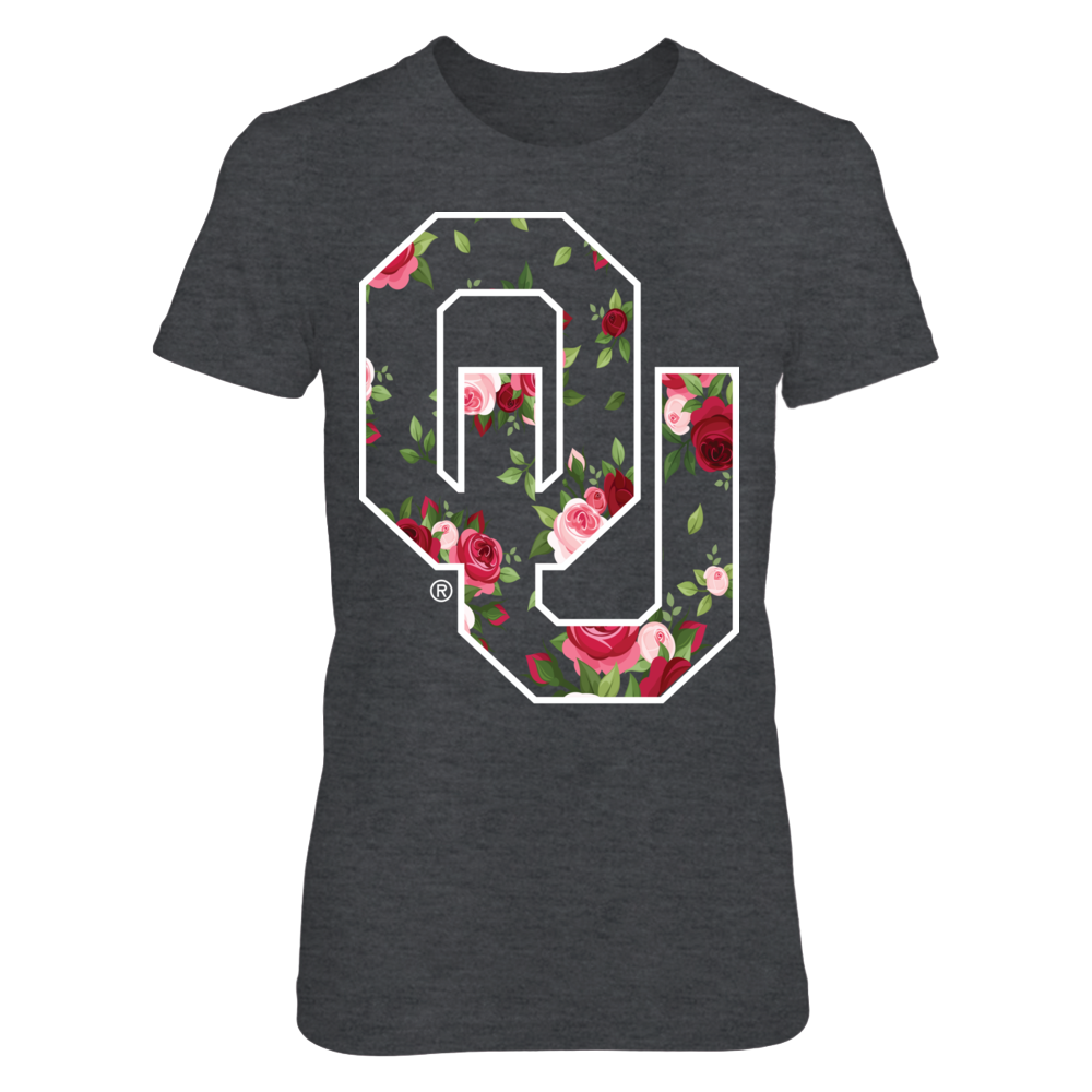 Oklahoma Sooners Floral Tee Front picture