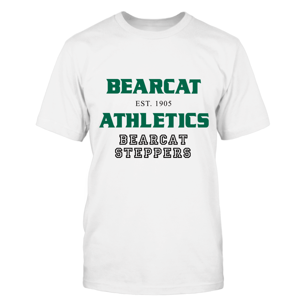 BEARCAT ATHLETICS EST. 1905 BEARCAT STEPPERS Front picture
