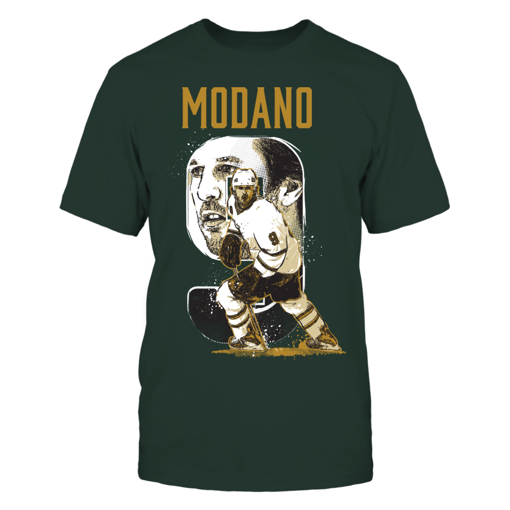 Mike Modano Player Campaign Mike Modano - Player Number FanPrint