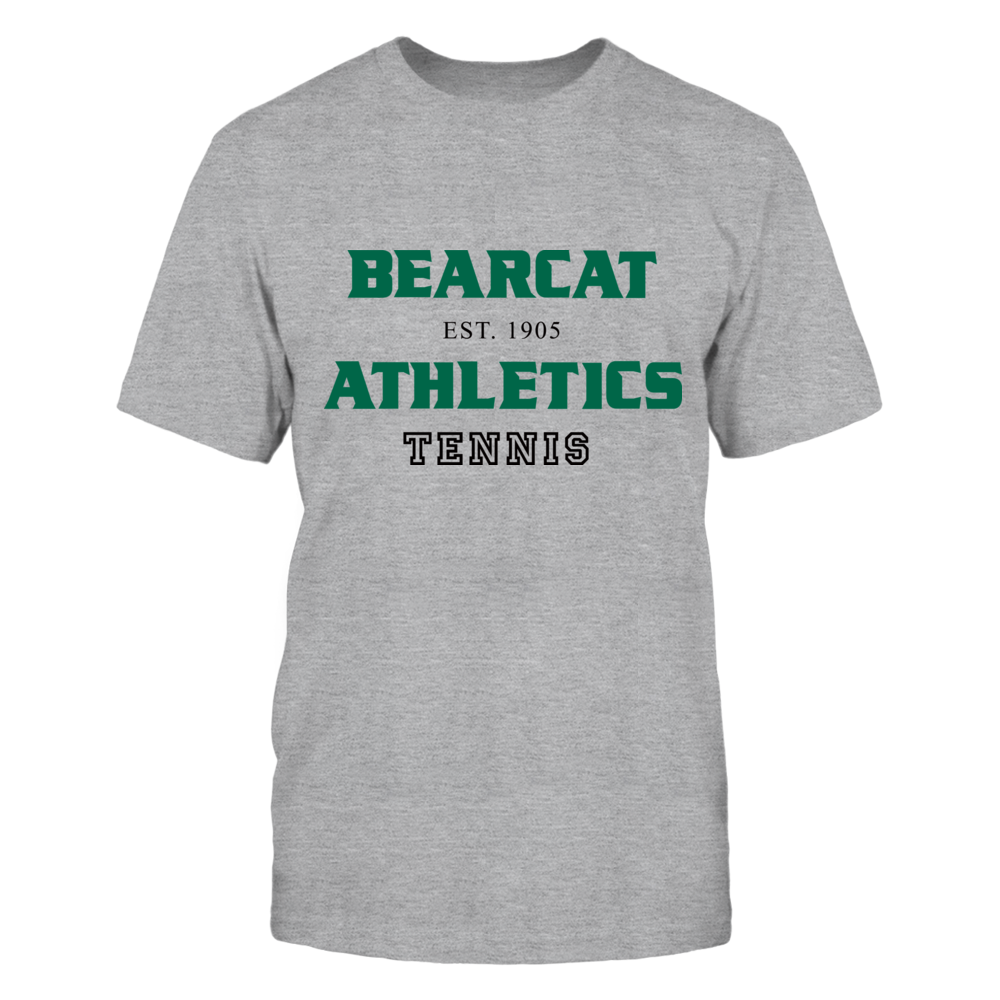 BEARCAT ATHLETICS EST. 1905 TENNIS Front picture