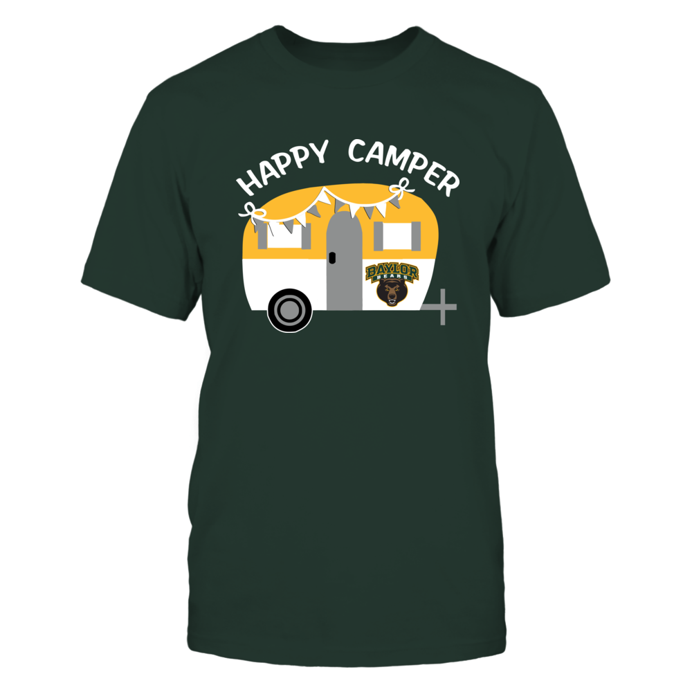 Baylor Bears - Camping - Vintage Camping Car - Dark Color Front picture