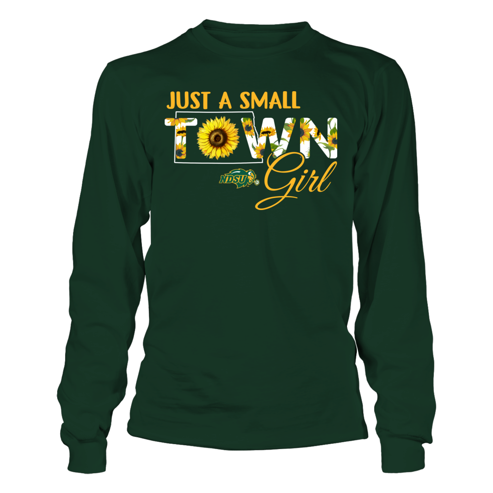 North Dakota State Bison - Small Town Girl - Sunflower - Ver 2 Front picture