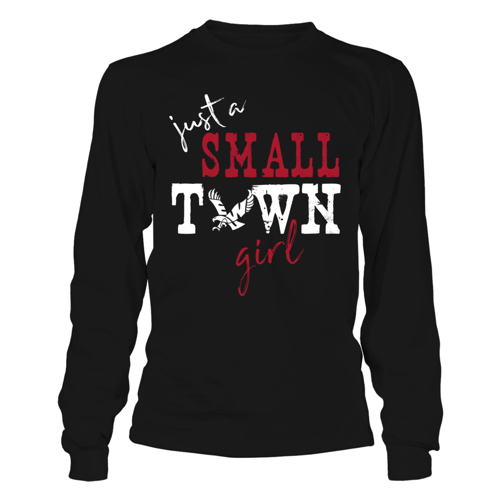 Eastern Washington Eagles - Small Town Girl - Logo - Dark Color Front picture