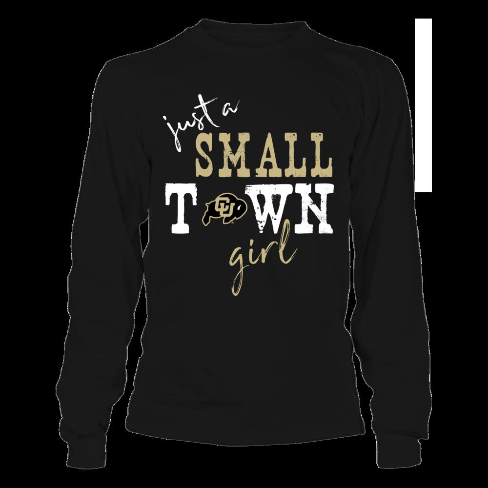 Colorado Buffaloes - Small Town Girl - Logo - Dark Color Front picture