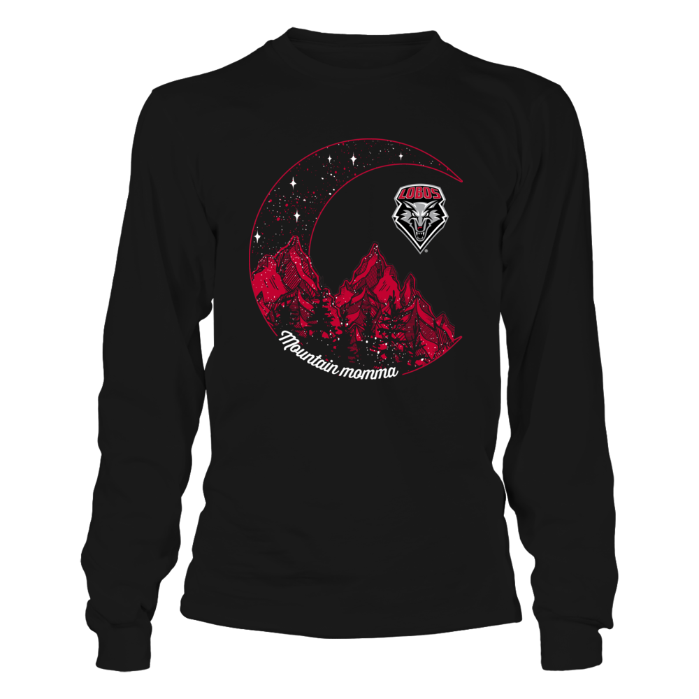 New Mexico Lobos - Mountain Momma Moon - Dark Color Front picture