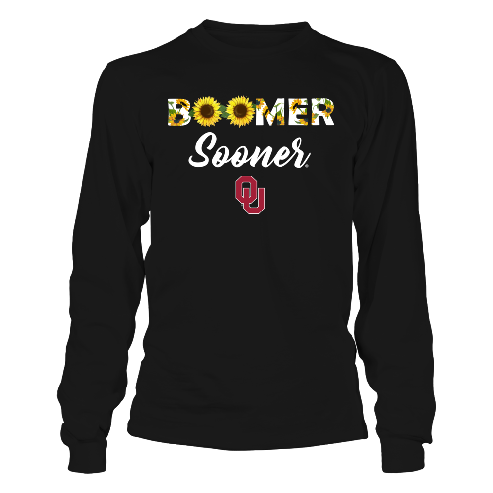 Oklahoma Sooners - Sunflower Slogan Front picture