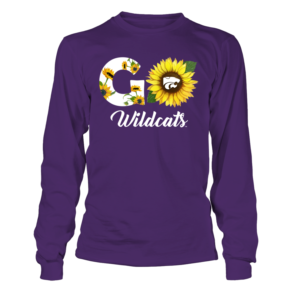 Kansas State Wildcats - Sunflower Slogan Front picture