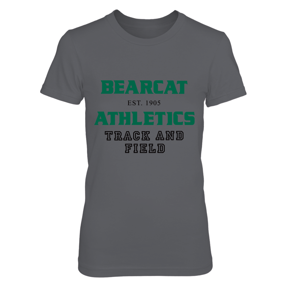 BEARCAT ATHLETICS EST. 1905 TRACK AND FIELD Front picture