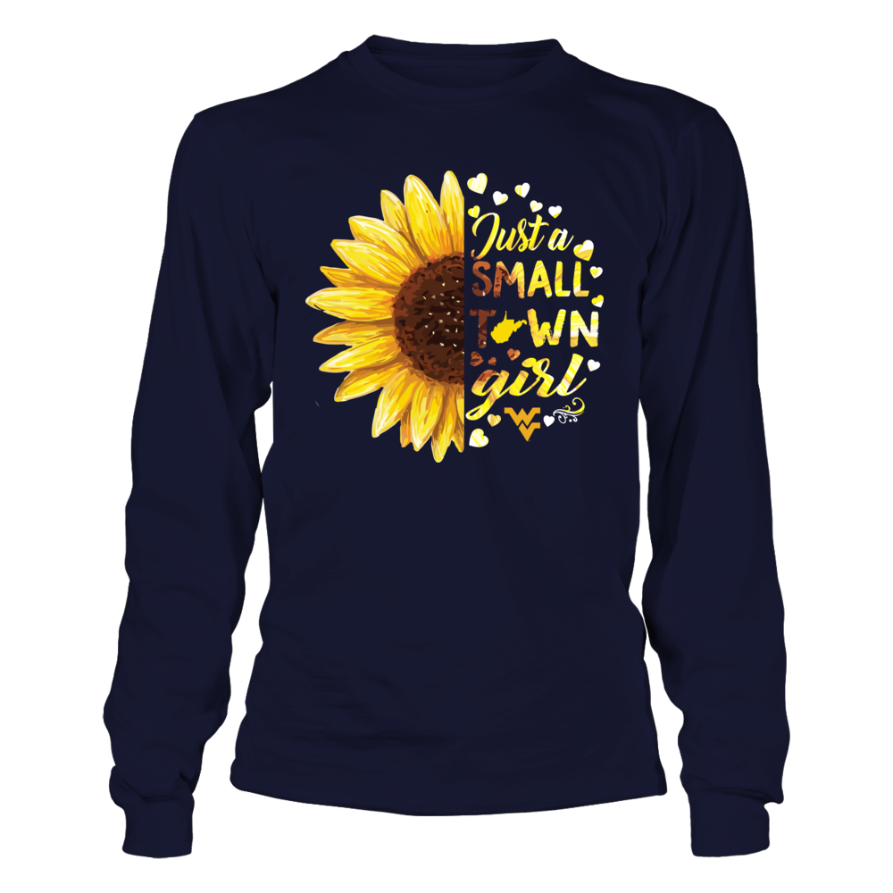 West Virginia Mountaineers - Half Sunflower - Small Town Girl Front picture
