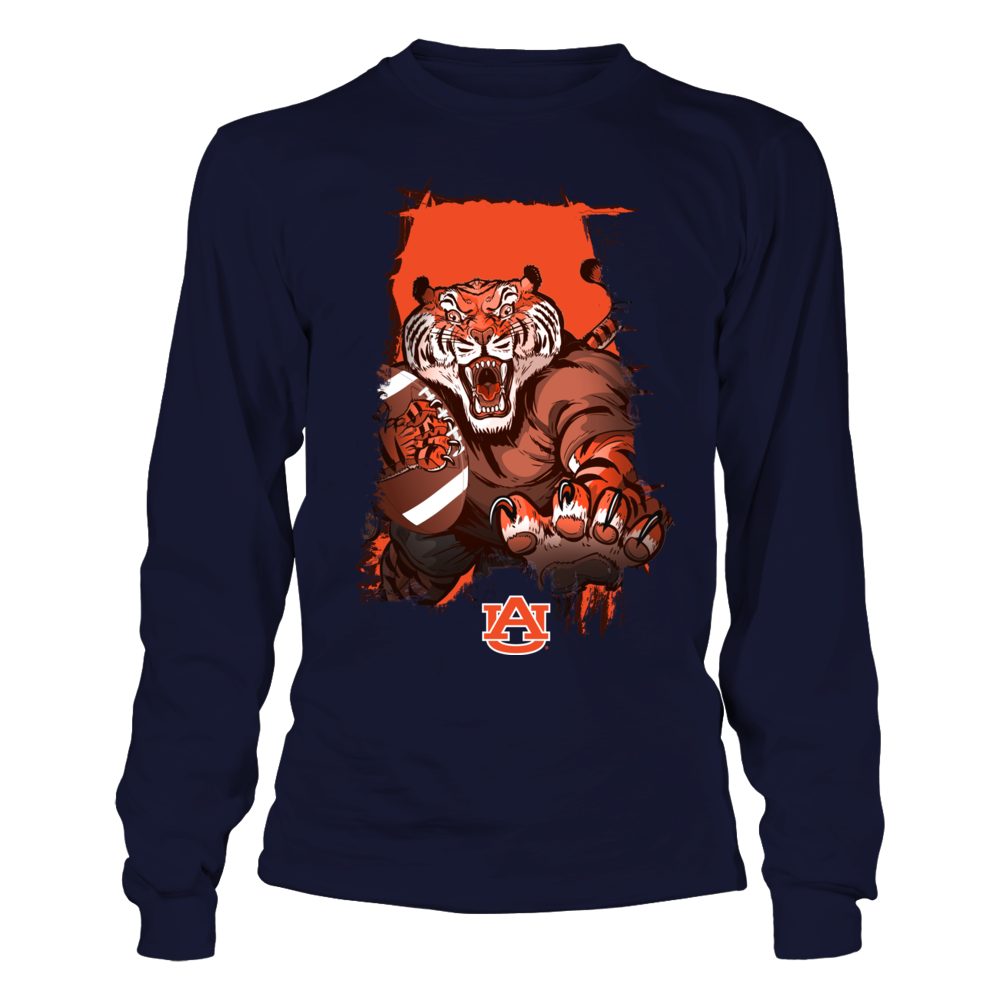 Auburn Tigers - Behind The State Map - Tiger Inside Front picture
