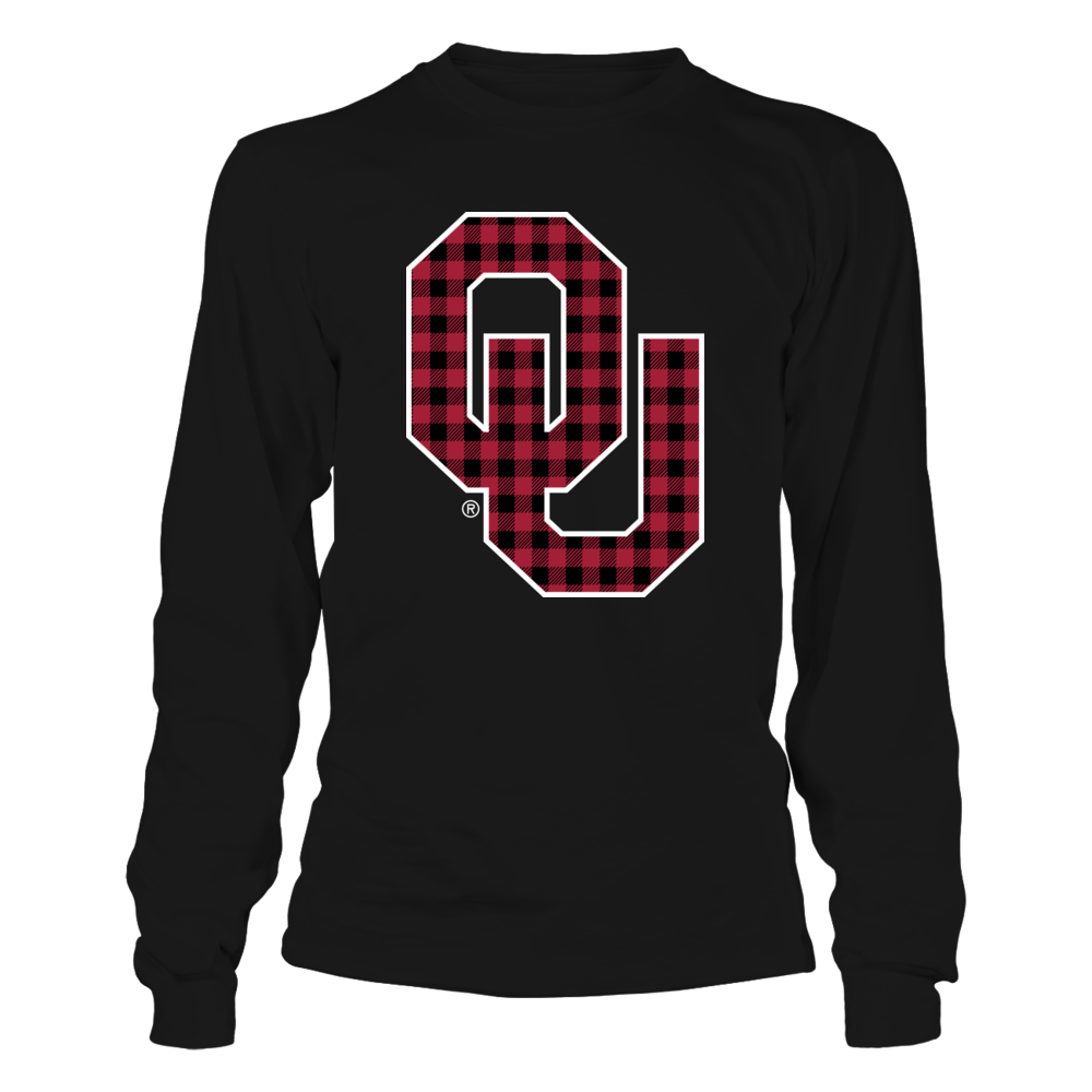Oklahoma Sooners - Checkered Pattern Logo Front picture