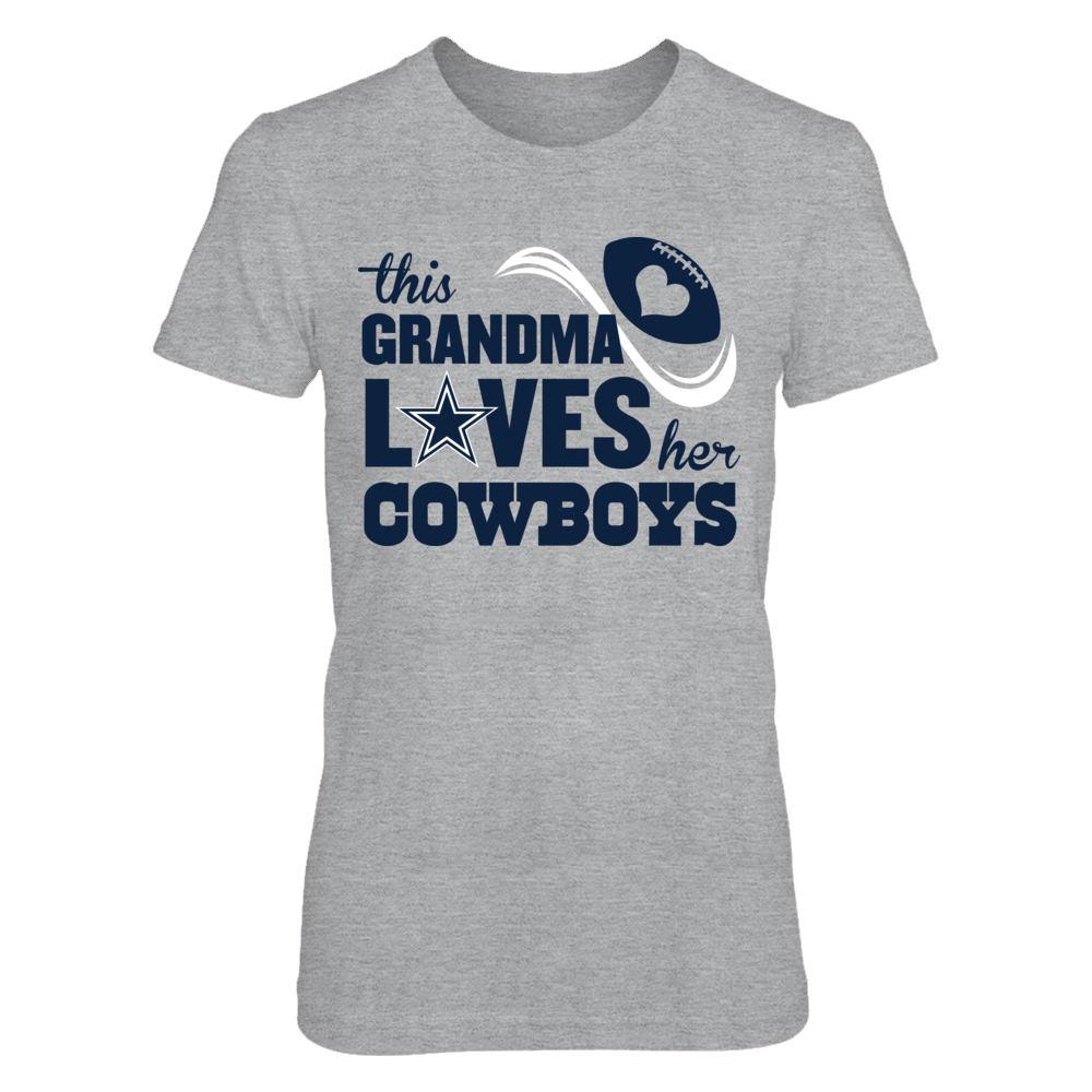 Dallas Cowboys - This Grandma Loves Front picture