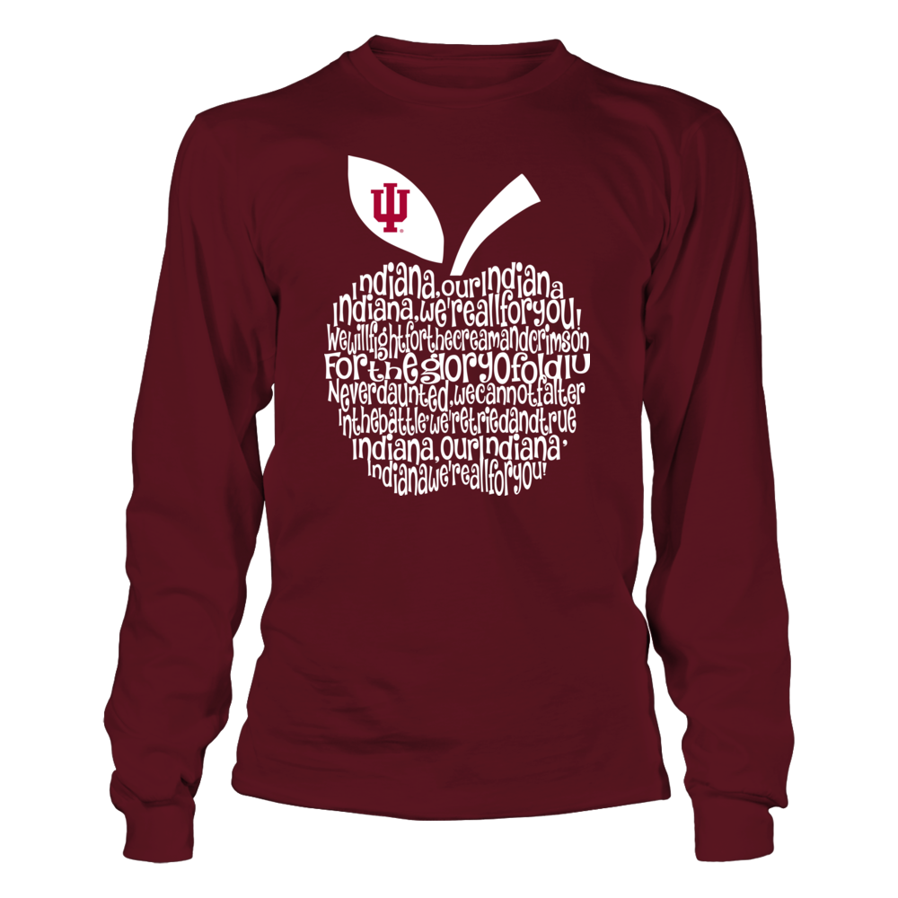 Indiana Hoosiers - Teacher - Fight Song Inside Apple Front picture