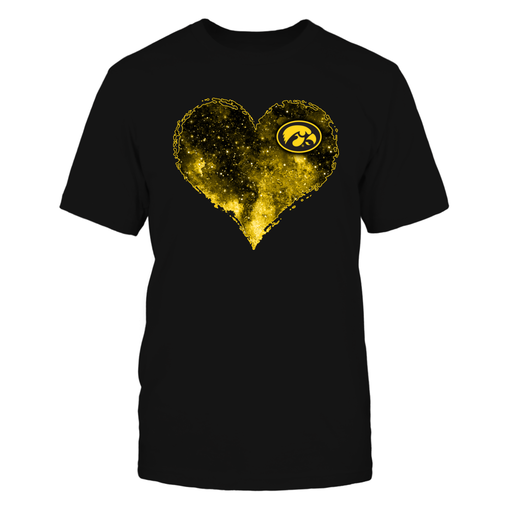 Iowa Hawkeyes - Mysterious Galaxy Heart Front picture