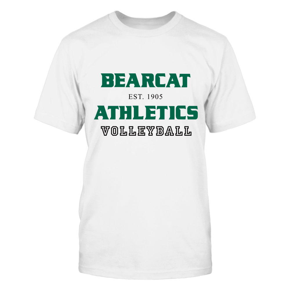 BEARCAT ATHLETICS EST. 1905 VOLLEYBALL Front picture