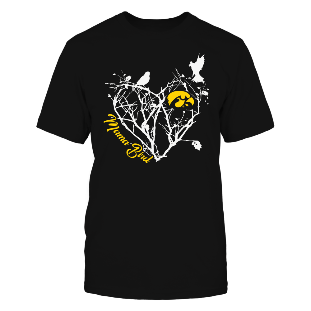 Iowa Hawkeyes - Mama Bird - Tree Heart Front picture