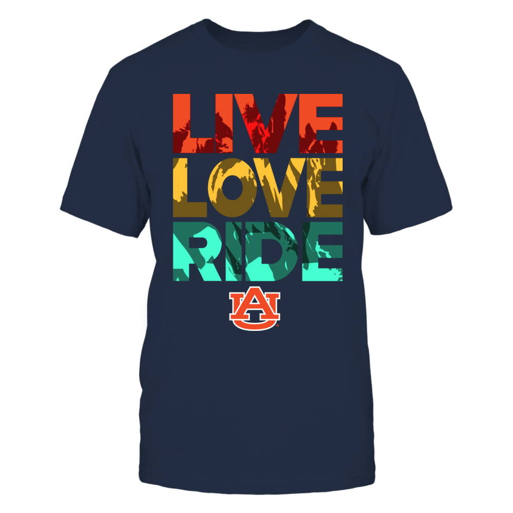 Auburn Tigers - Live, Love, Ride Front picture