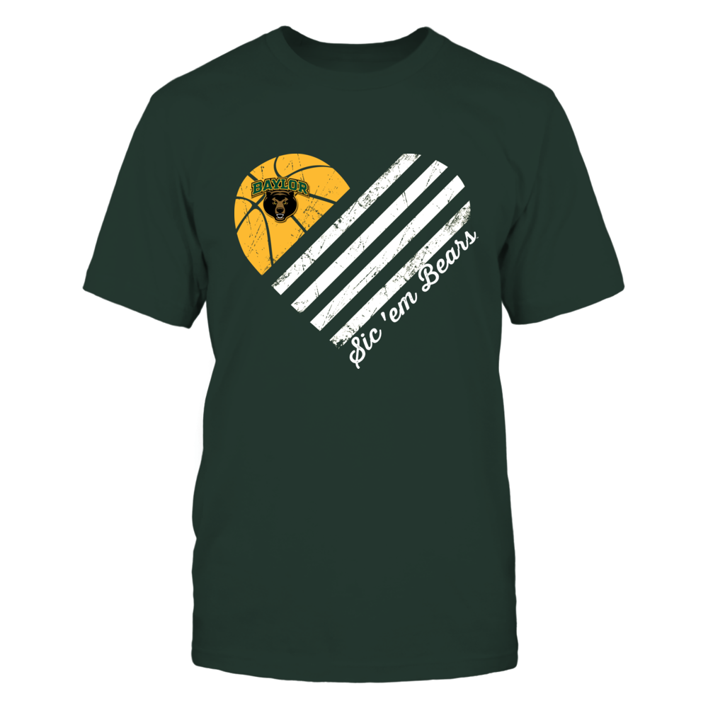 Baylor Bears - Texas Paw Checkered Pattern Front picture