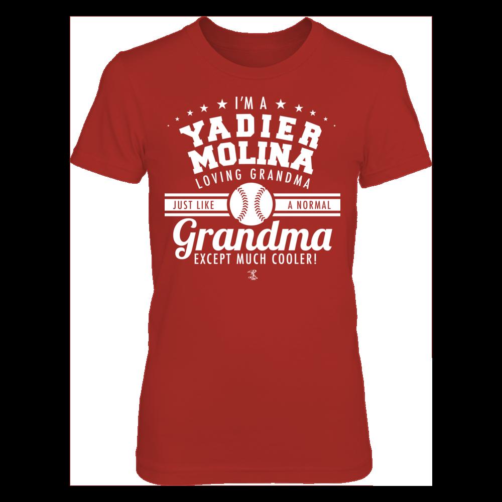 Yadier Molina Yadier Molina - Like A Normal Grandma Except Cooler FanPrint