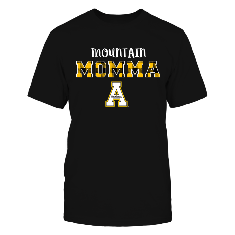 Appalachian State Mountaineers - Mountain Momma - Checkered Pattern Front picture