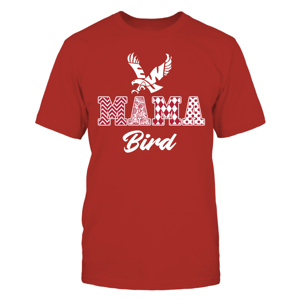 Eastern Washington Eagles - Patterned Letters - Mama Mascot Front picture