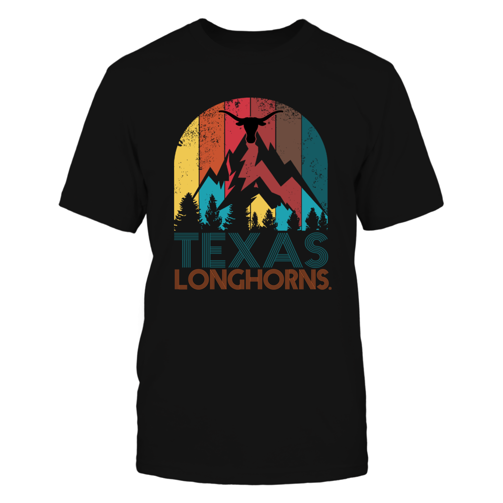 Texas Longhorns - Texas State Retro Style Front picture