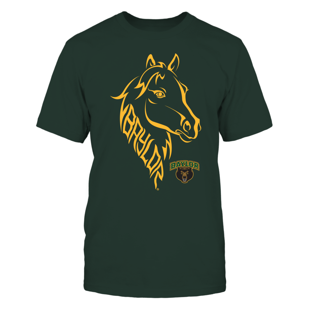 Baylor Bears - Inside The Mascot - Horse - Ver 2 Front picture