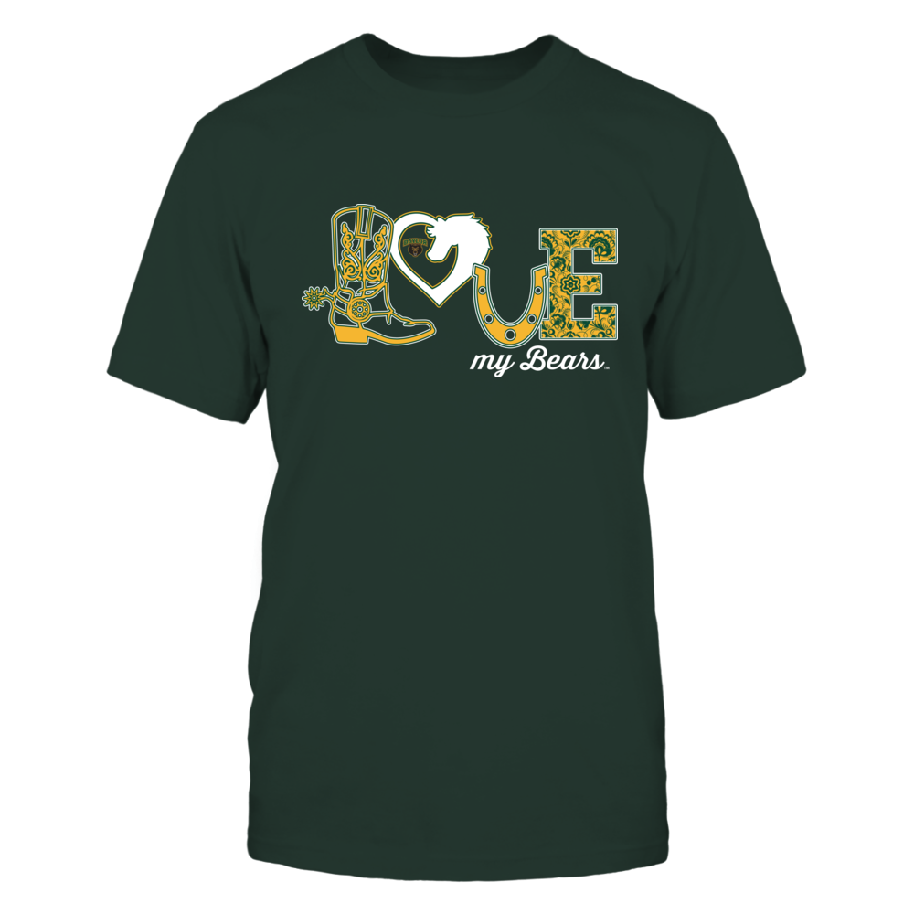 Baylor Bears - Equestrian - Love Boot - Ver 2 Front picture