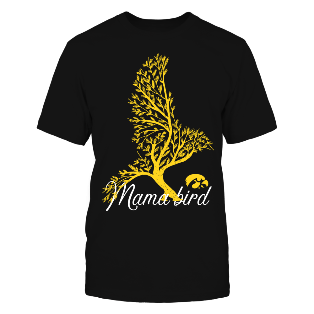 Iowa Hawkeyes - Mama Bird - Bird of Leaves Front picture