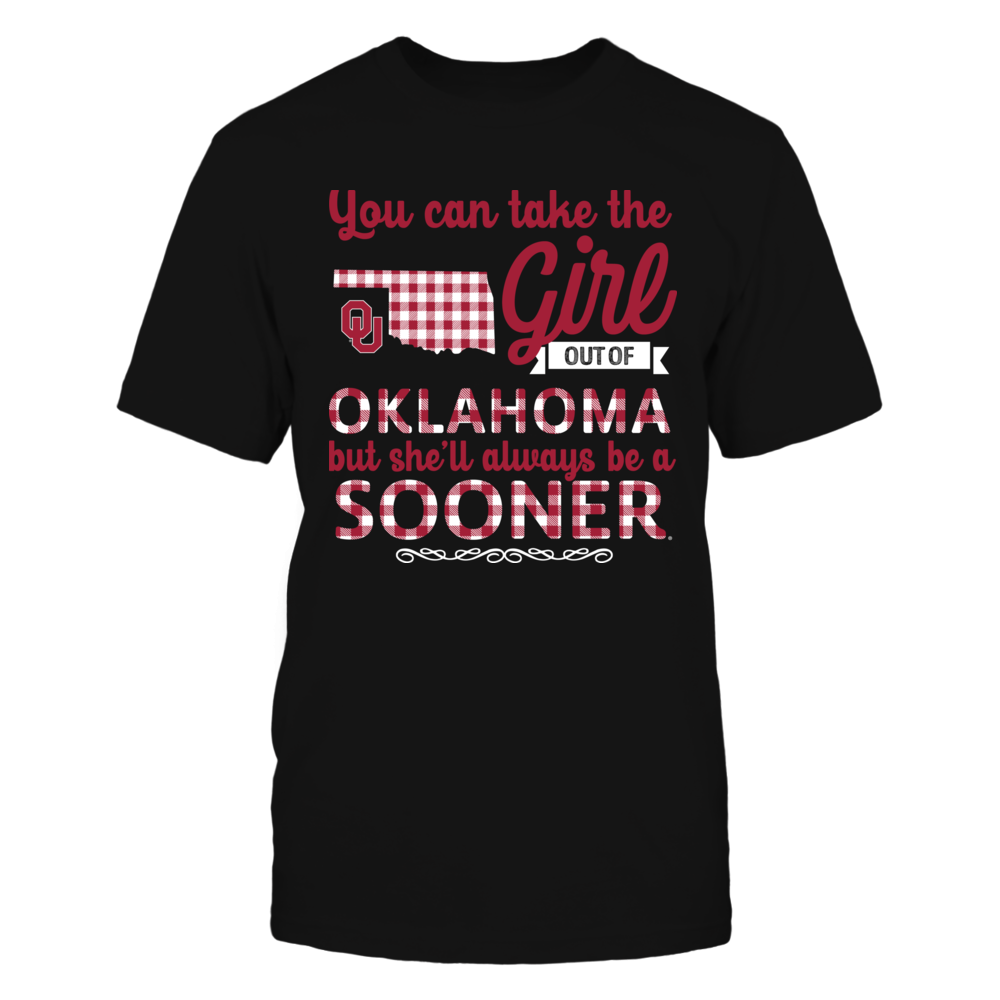 Oklahoma Sooners - Take The Girl Out - Checkered Pattern Front picture