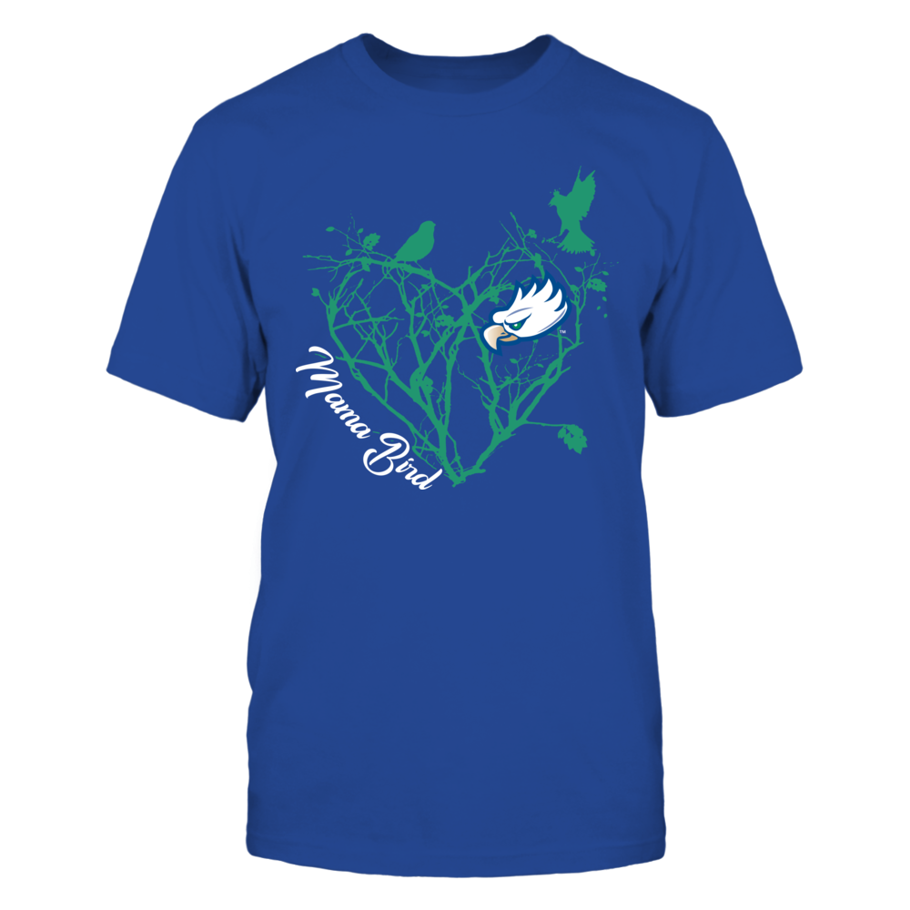 Florida Gulf Coast Eagles - Mama Bird - Tree Heart Front picture