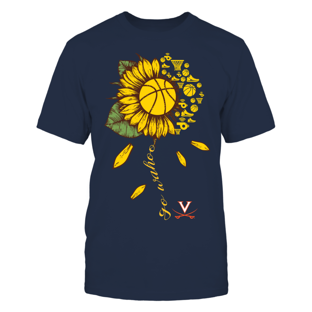 Virginia Cavaliers - Basketball Sunflower - Team Slogan Front picture