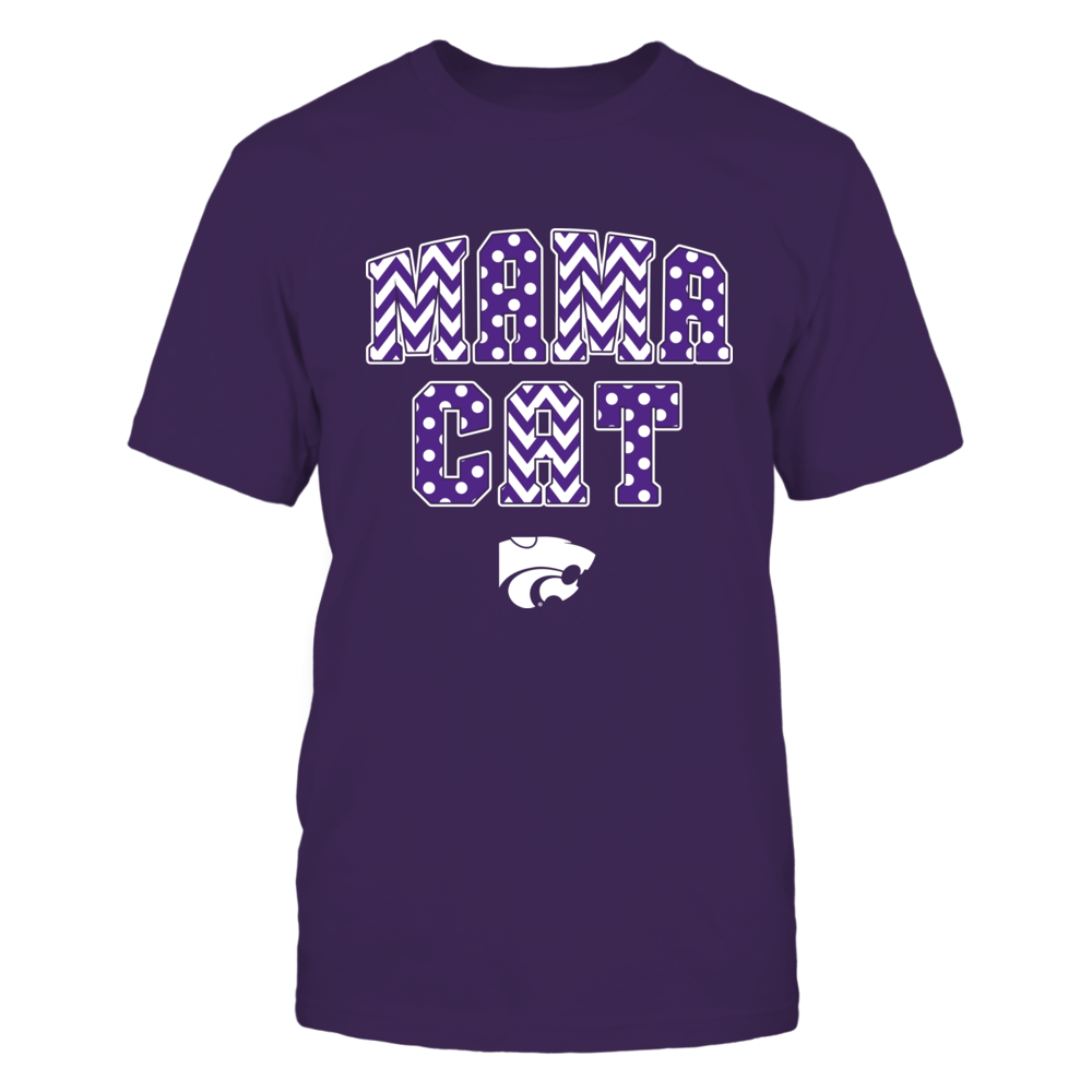 Kansas State Wildcats - Pattern Mama Cat Front picture