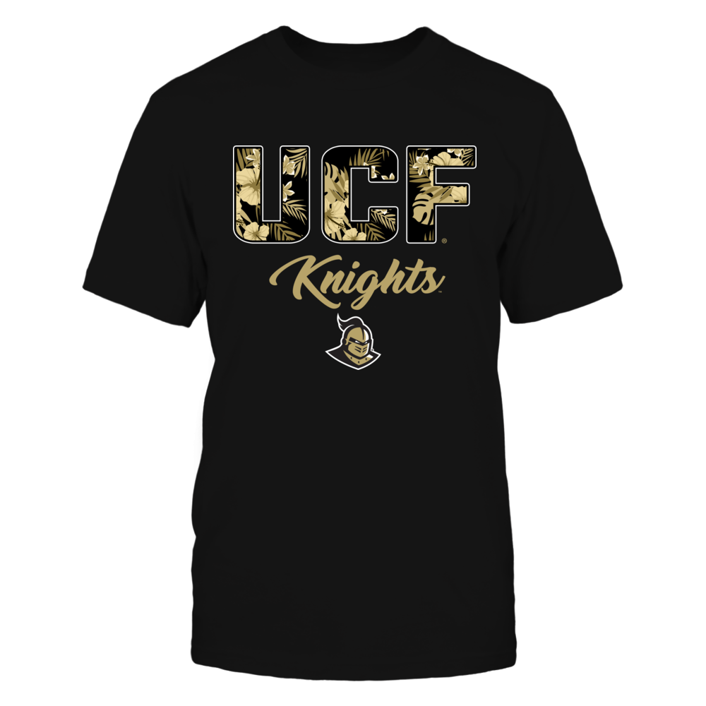 UCF Knights - Tropical Patterned Letters - Team Name - IF-IC13-DS64 Front picture
