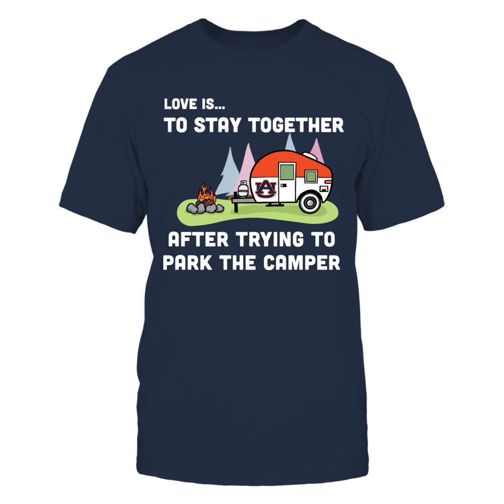 Auburn Tigers - Love is Camping Front picture
