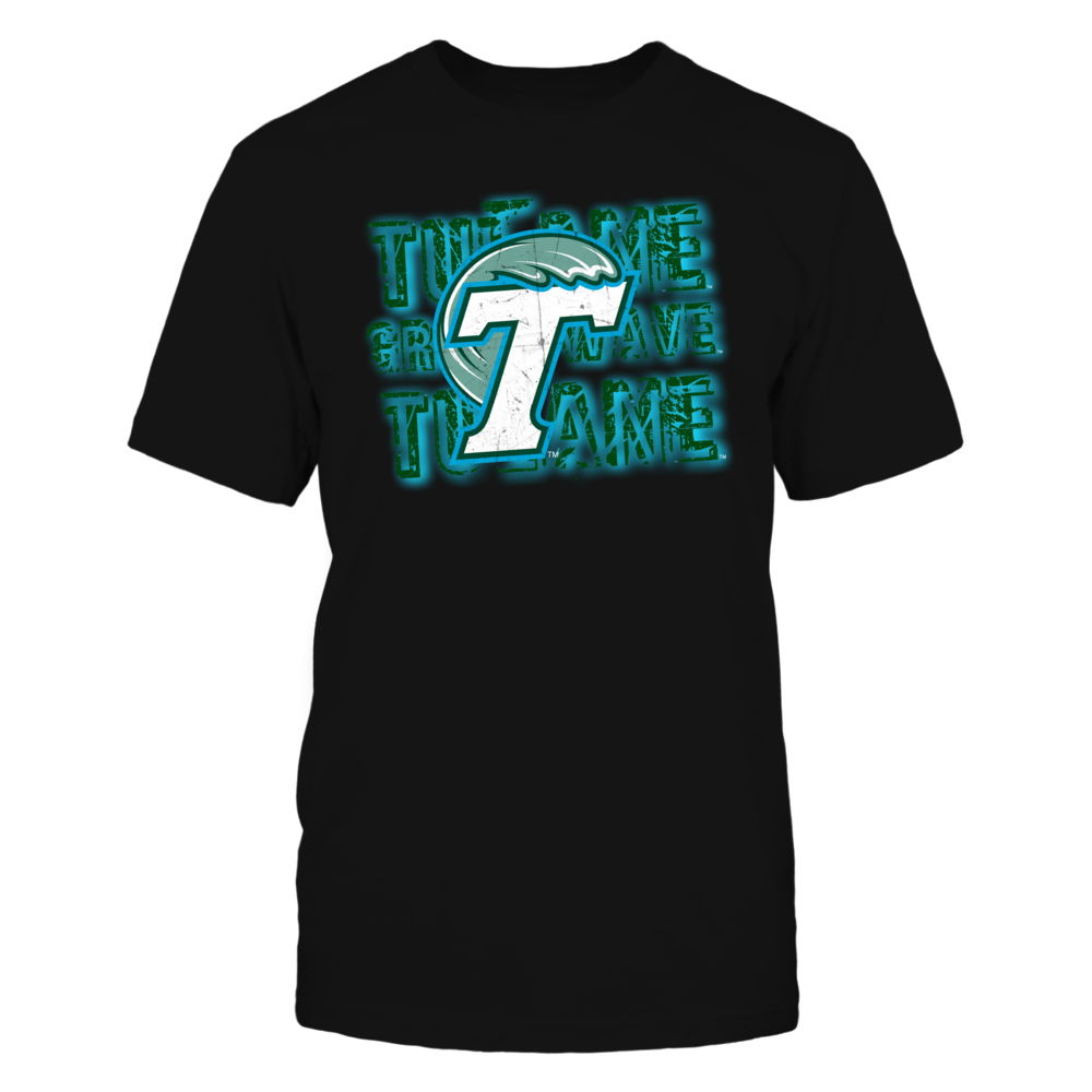 Tulane Green Wave Front picture
