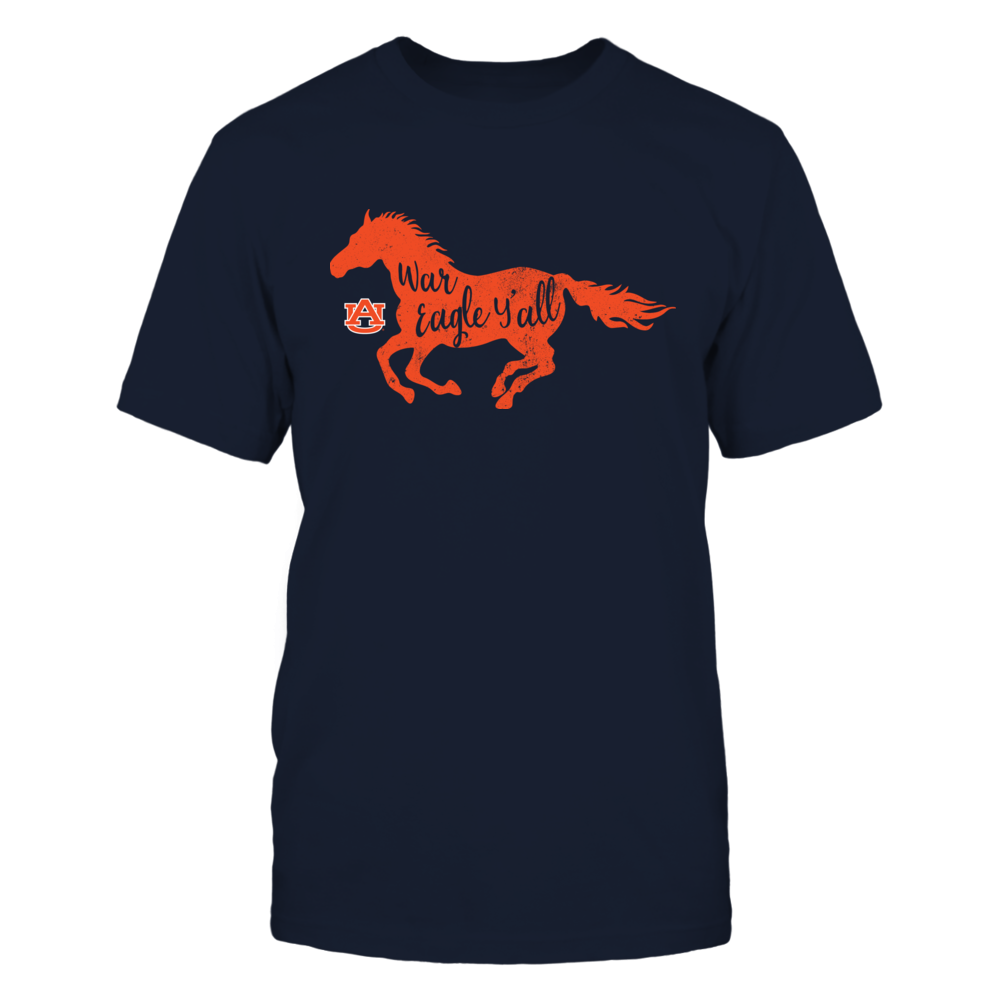 Auburn Tigers - Horse - Slogan Inside Horse - IF13-IC13-DS37 Front picture