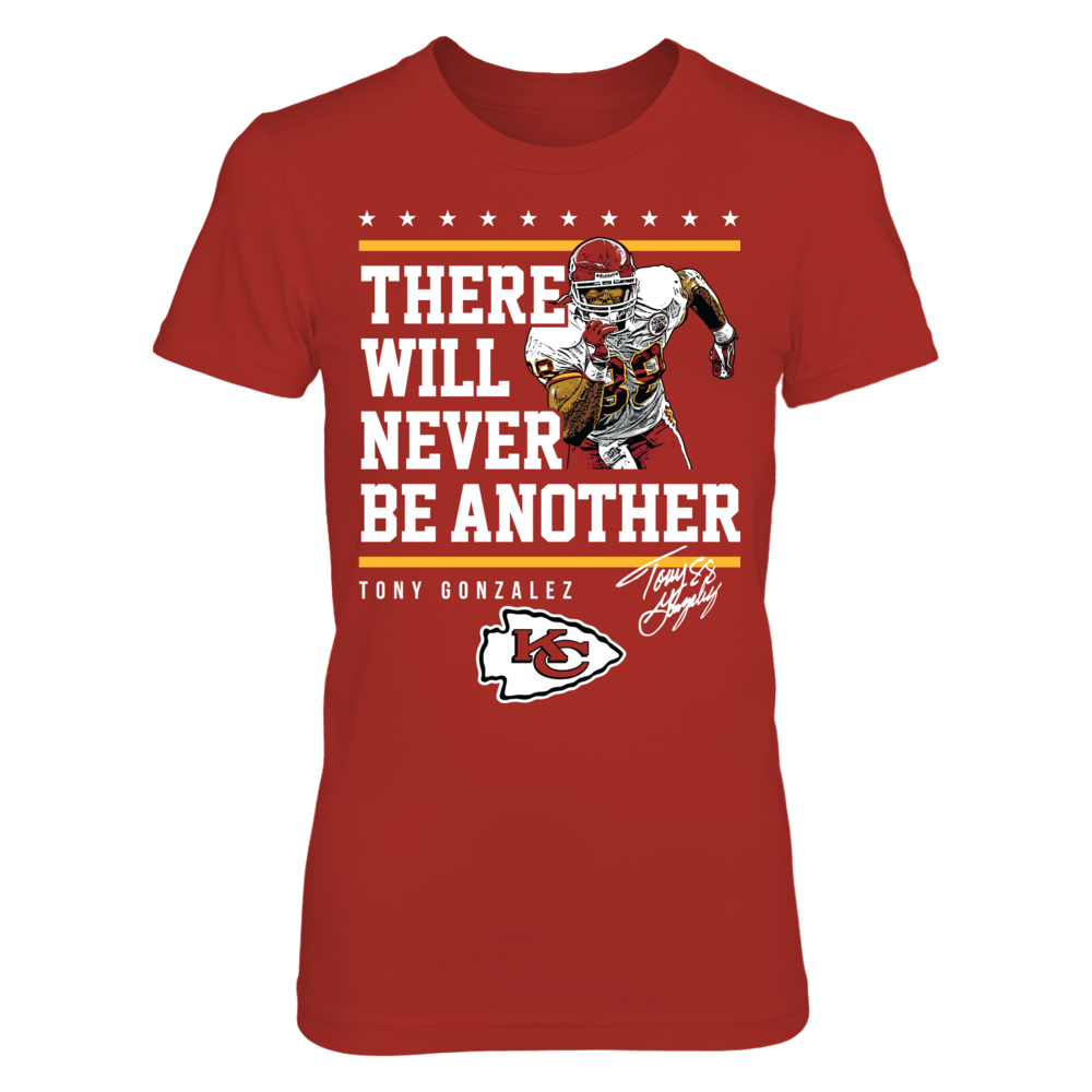 Kansas City Chiefs - Never Be Another Tony Gonzalez Front picture