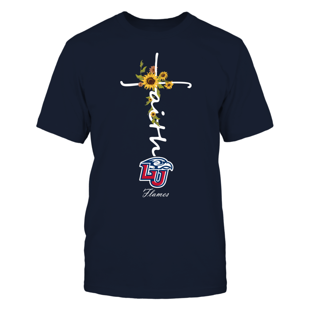 Liberty Flames - Faith In Cross Shape - Sunflower Front picture
