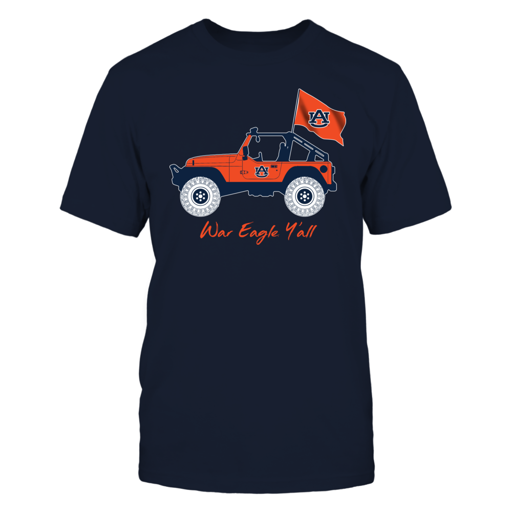 Auburn Tigers - Jeep - Jeep Car - IF-IC13-DS27 Front picture