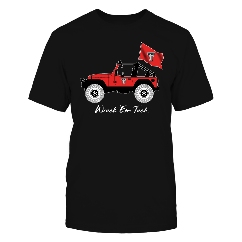 Texas Tech Red Raiders - Jeep - Jeep Car Front picture