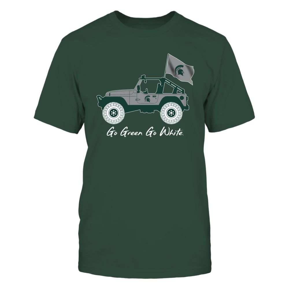 Michigan State Spartans - Jeep - Jeep Car - IF-IC13-DS45 Front picture