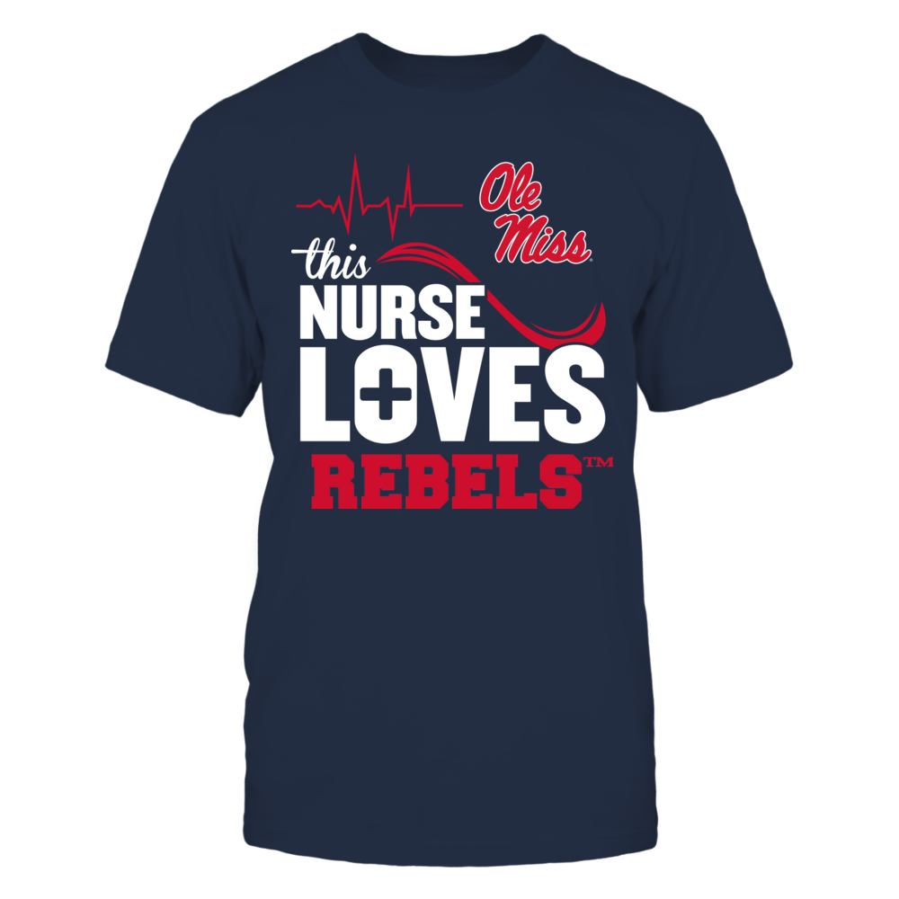 Ole Miss Rebels - This Nurse Loves Front picture