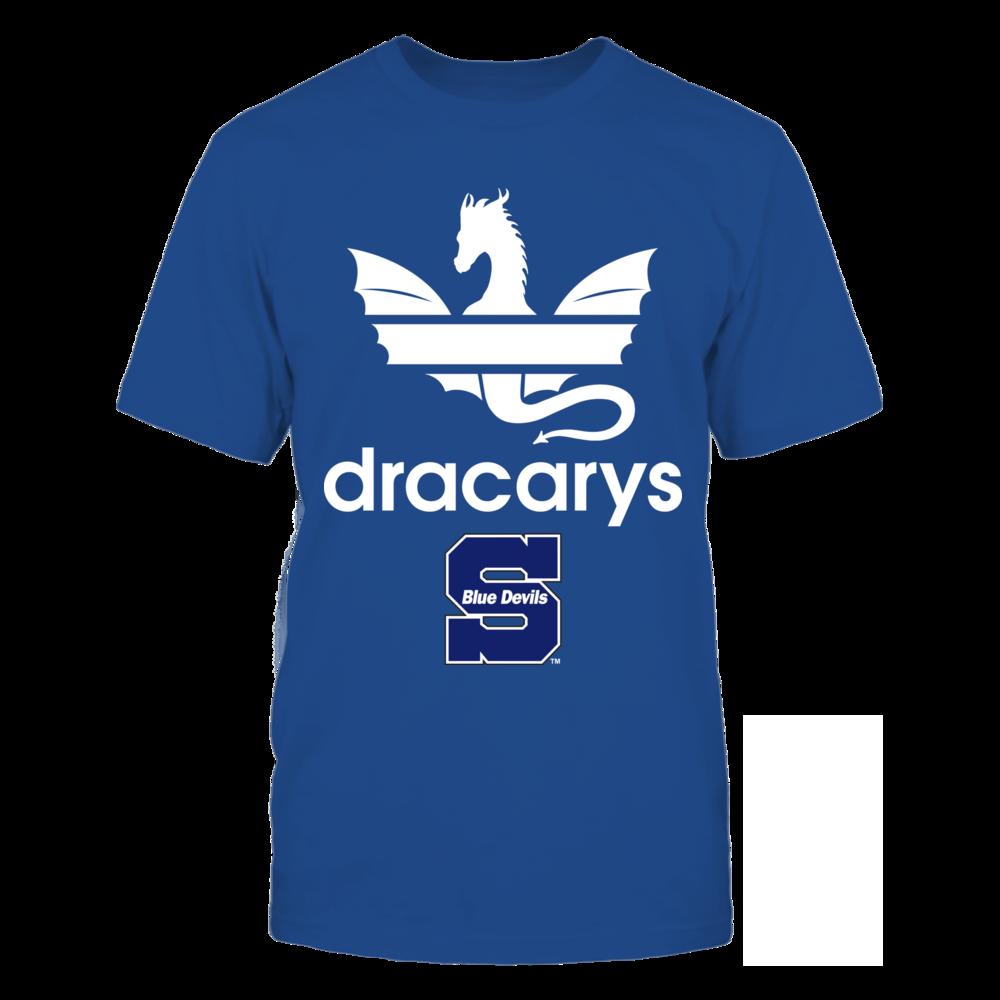 Wisconsin Stout Blue Devils - Dracarys Front picture