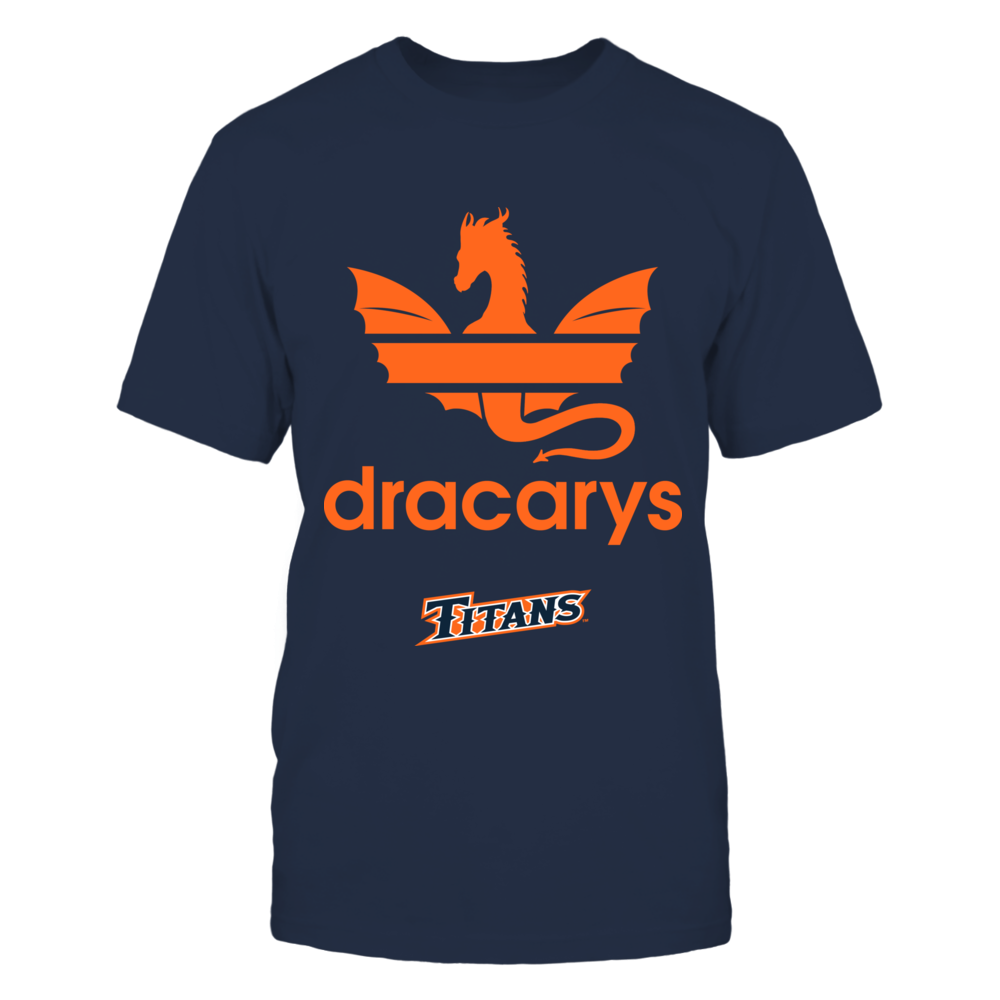 Cal State Fullerton Titans - Dracarys Front picture