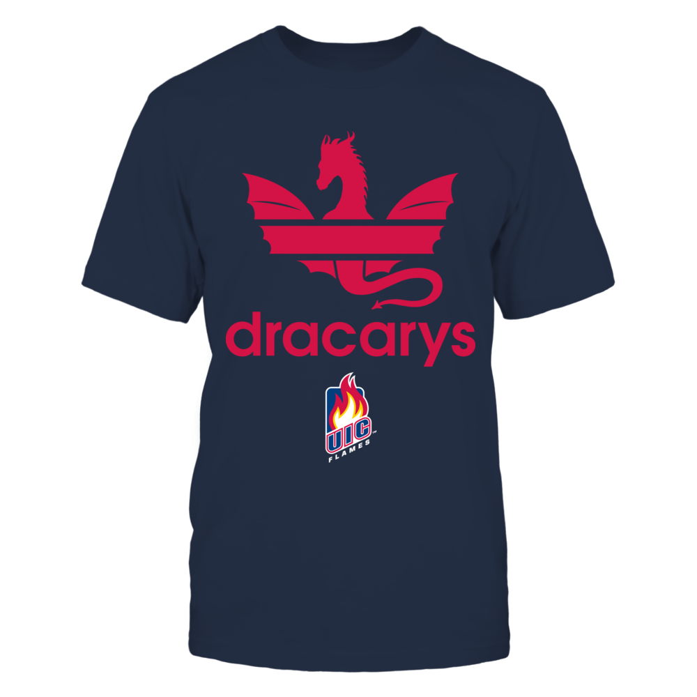 UIC Flames - Dracarys Front picture