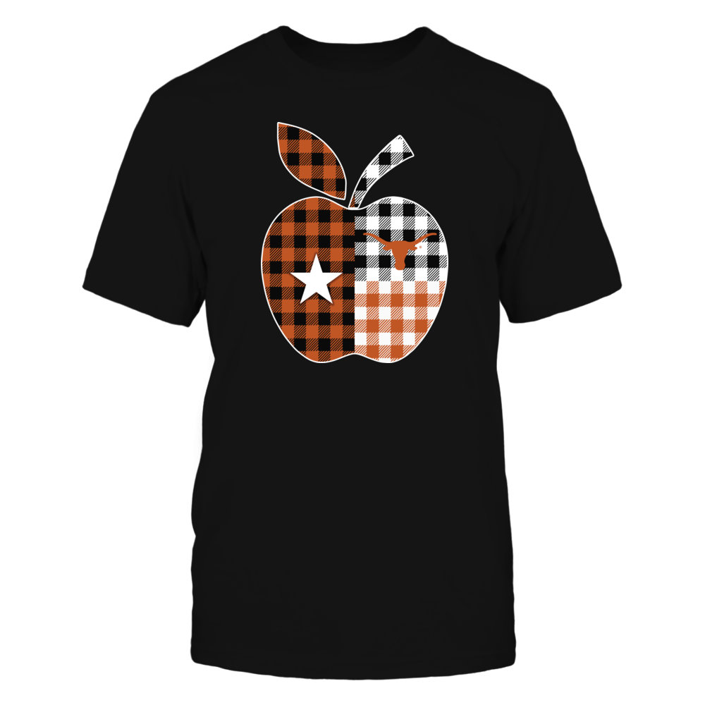 Texas Longhorns - Texas Apple Checkered Pattern Front picture